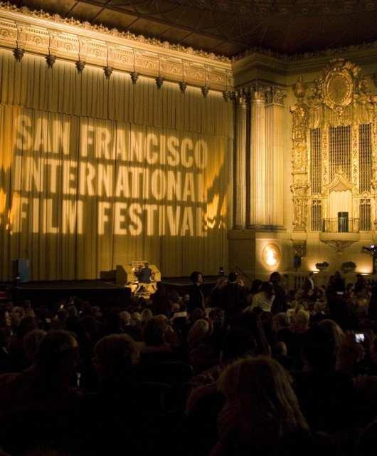 The San Francisco International Film Festival in the Castro Theatre. Photo: seventh-row.com