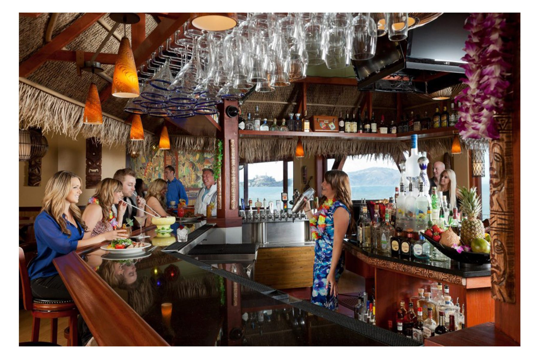 Luau Tiki Lounge at Player's. Photo: Player's Sports Bar, Facebook.