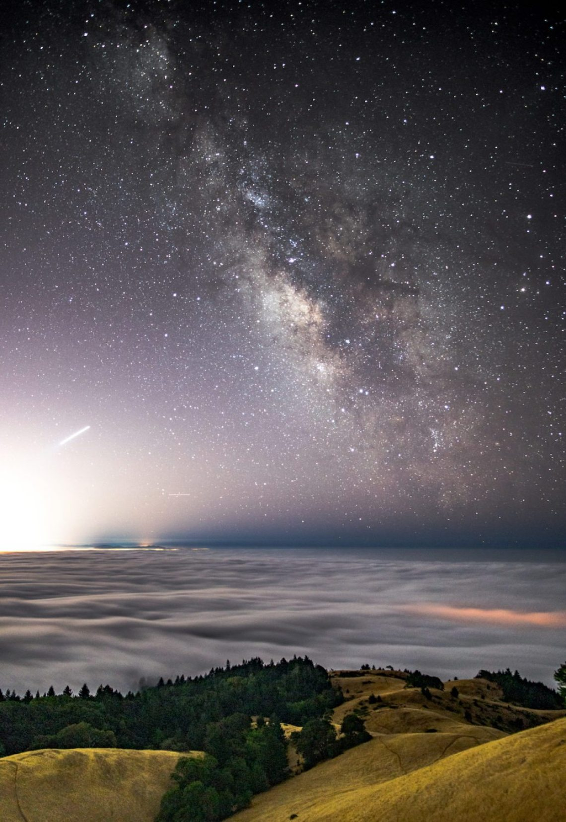 """My favorite pic. Taken last summer up on Mt. Tam over the fog."" Photo: Jake Landon, @jakelandon. #SFGuide Featured Photographer."