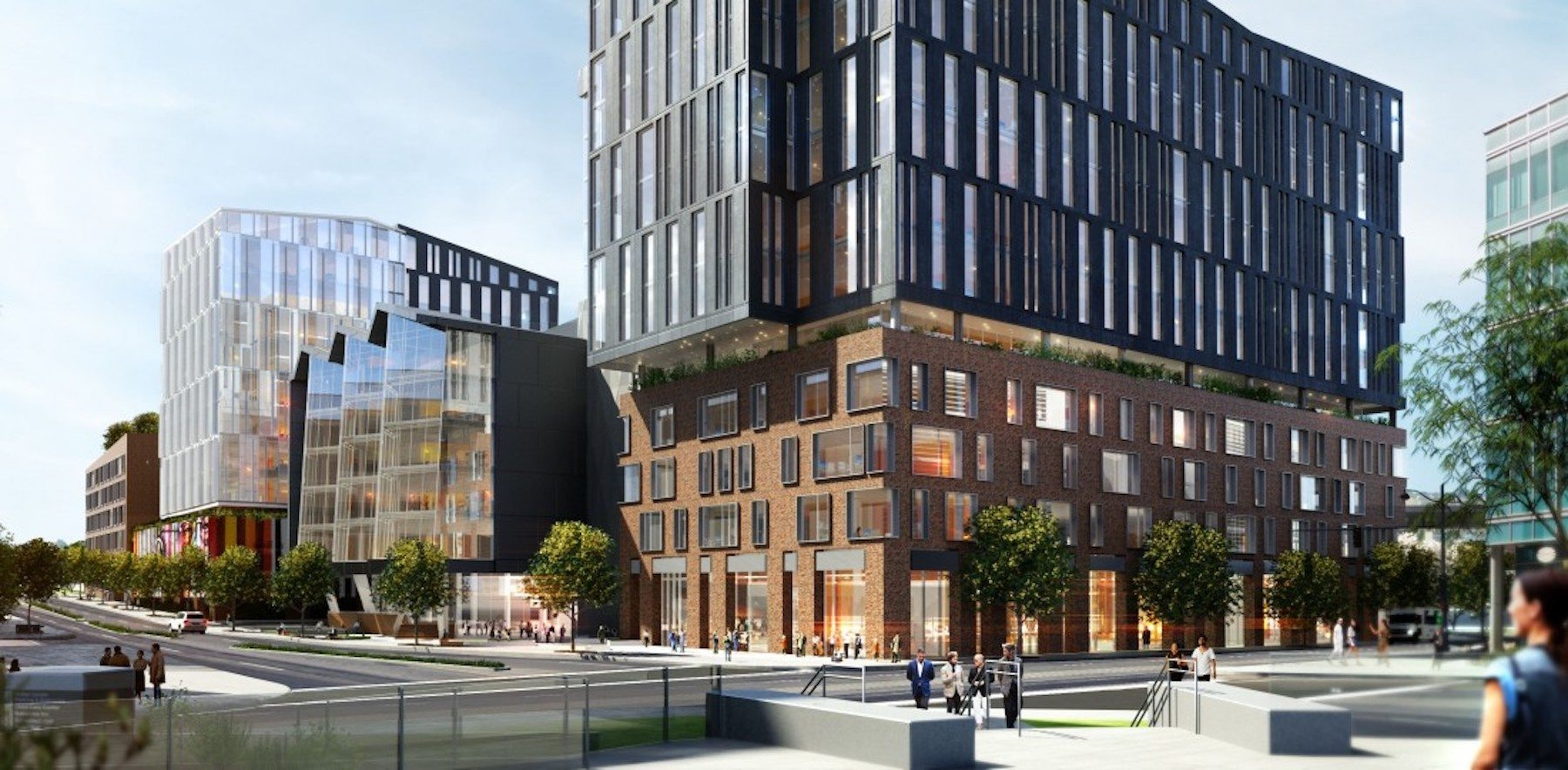 Rendering of The Exchange on 16th Street. Photo: The Exchange.