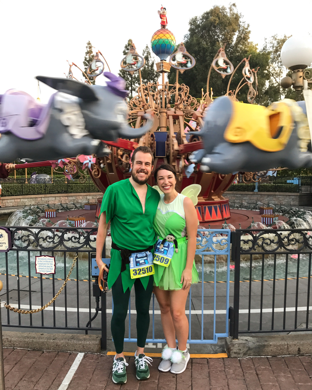 Run Disney Tinkerbelle and Peter Pan Outfits - 4 All Things