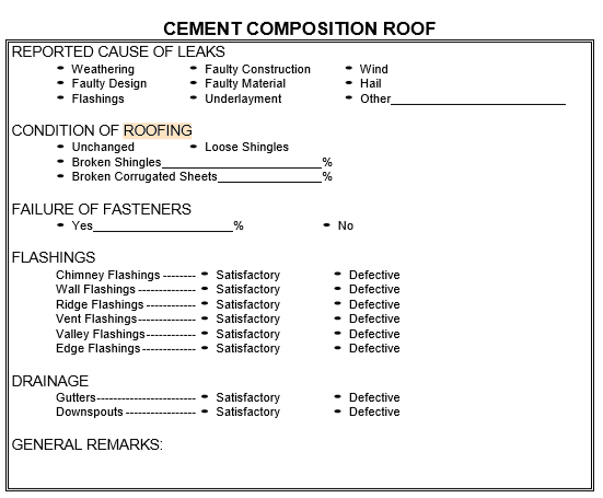 Job order contract blog roof inspection checklists fandeluxe Images