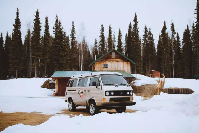 Camping Car en Alaska