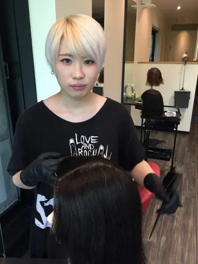 金沢市美容室4cm新入社員紹介!将来のスーパー美容師です。No.3