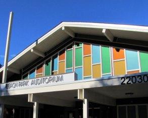 Des Moines Beach Park Auditorium © 2012, courtesy of King County Historic Preservation Program.
