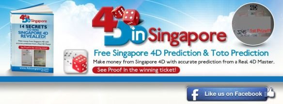 Singapore Pools 4D ToTo Predictions Results
