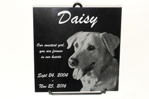 Engraved Marble Plaque