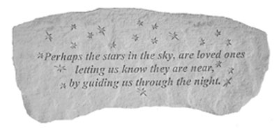 Garden Bench - Perhaps the stars in the sky