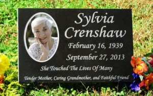 Engraved Color Photographic Granite Memorial