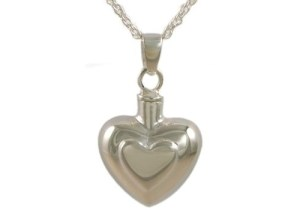 Double Heart Pendant