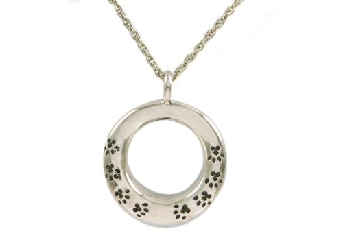 Round With Paws Pendant