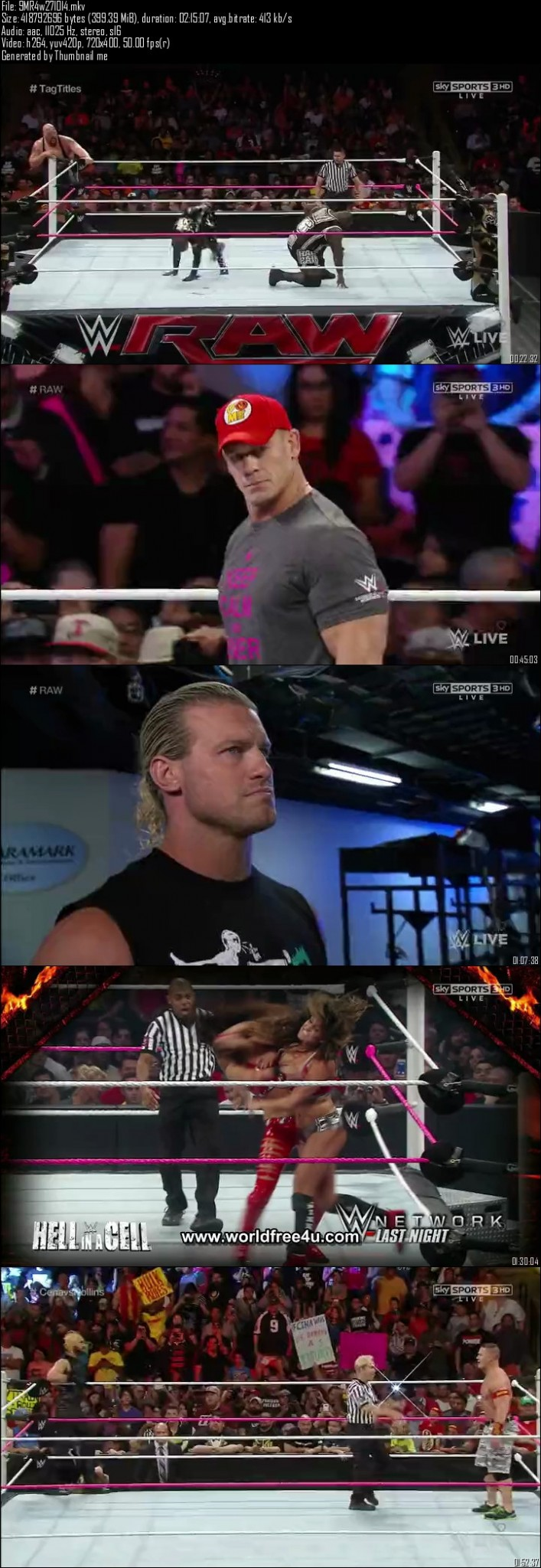 WWE Monday Night Raw 27th October (2014)