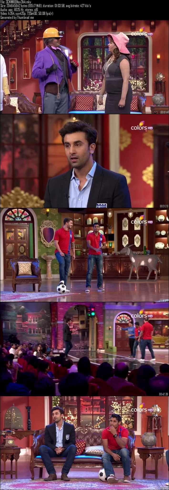 Comedy Nights With Kapil 16th November (2014)