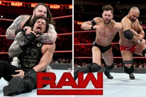 WWE Monday Night Raw 5th February 2018