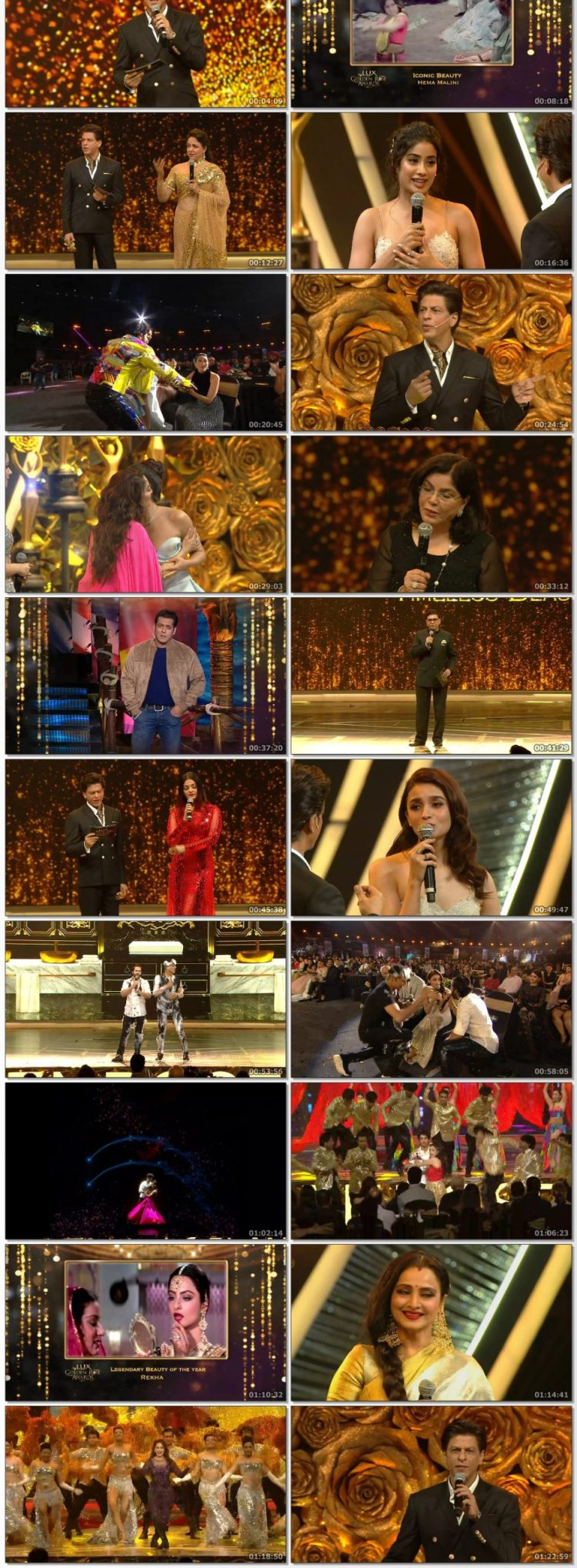 Lux Golden Rose Awards (2018)