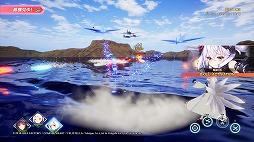 画像(030)3Dモデルになったおなじみの艦船が縦横無尽に海戦を繰り広げる。進撃海戦RPG「アズールレーン クロスウェーブ」プレイレポート