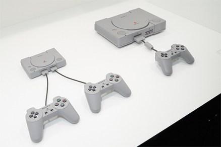 [TGS 2018]写真で見る「プレイステーション クラシック」。小さなボディだけでなく,オリジナルと同サイズのゲームパッドにも注目