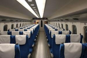 車内 | 東海道・山陽新幹線