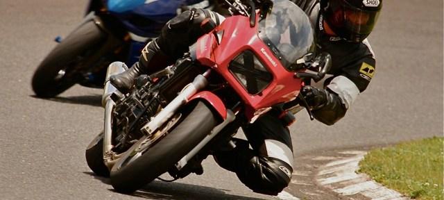 セッティングが出ていないと、バイクはまともに走らない