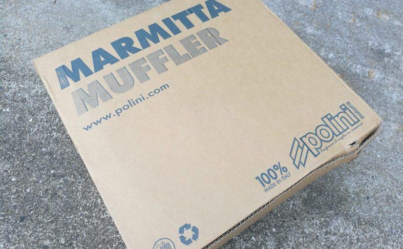 VESPA PX150のマフラー交換を交換してみたよ!