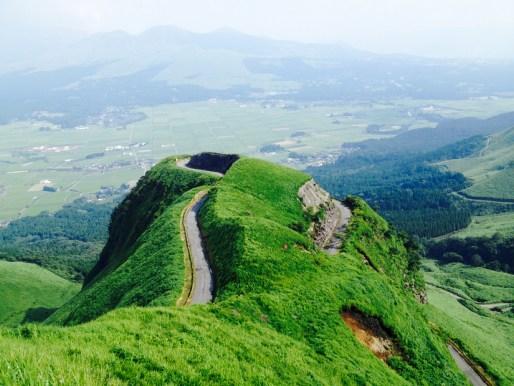 熊本県阿蘇市   天空の道