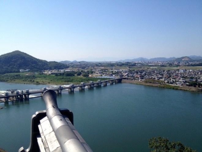 国宝 犬山城 天守からの眺め