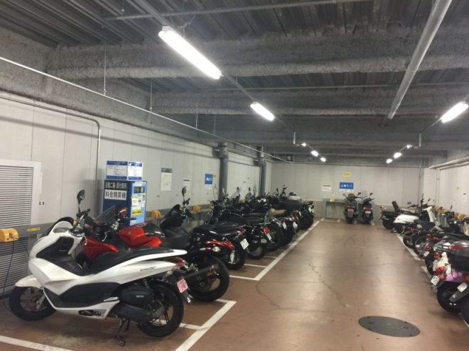 キャナルシティ博多第4駐輪場