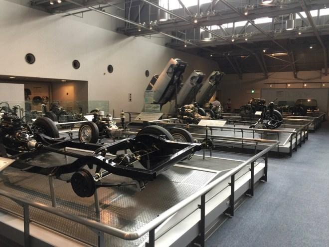 シャシーとボディの比較 | トヨタ産業技術記念館
