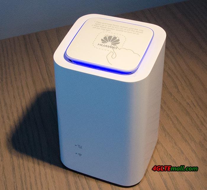 Huawei 4G WiFi Cube E5180 logo