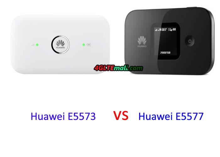 Huawei-E5573 vs E5577 MIFI