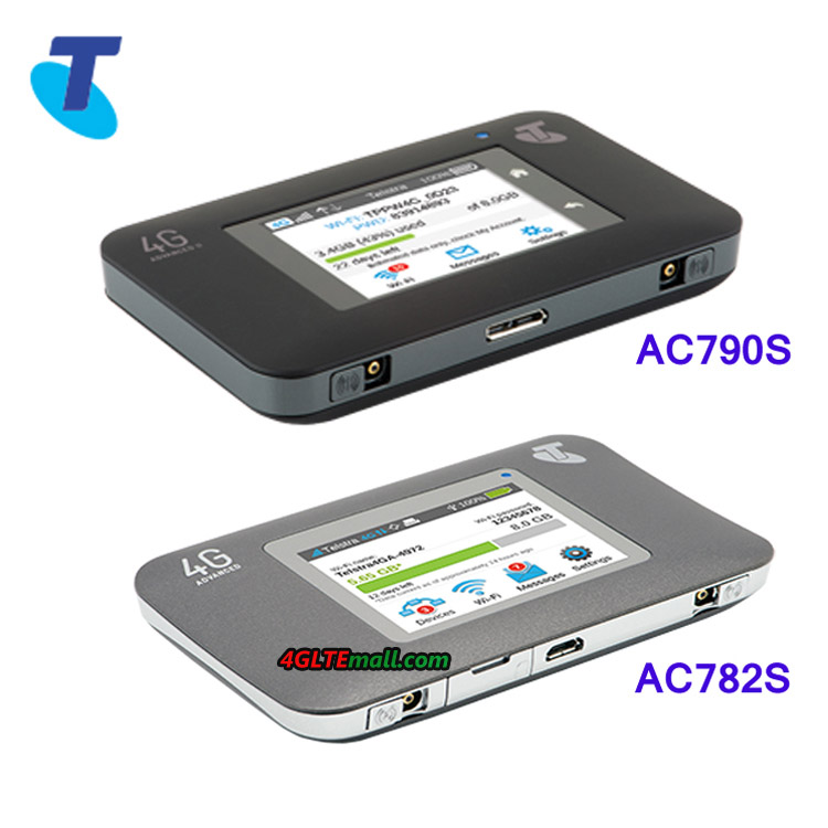 Telstra 4G WiFi Advanced & II compasion