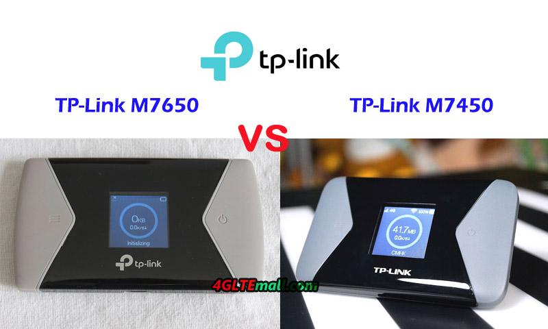 TP-Link M7650 VS M7450 Portable WiFi Router - Bizpr ca