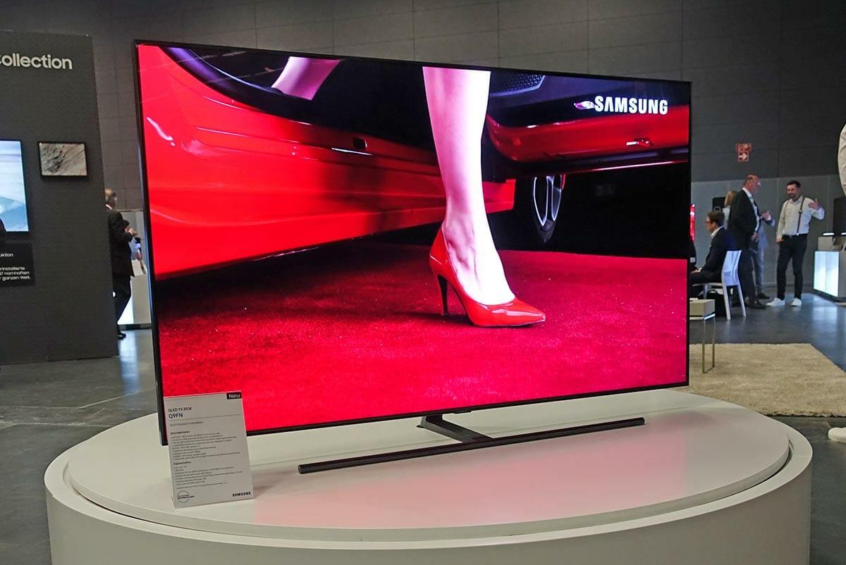 Test Q9fn Samsung Qled 4k Fernseher Mit 65 Zoll
