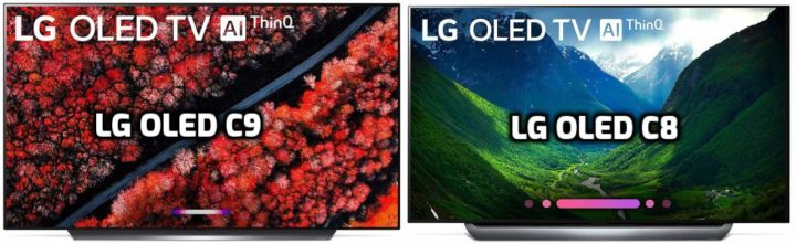 Lg Oled C9 Vs Oled C8 Review Side By Side Comparison