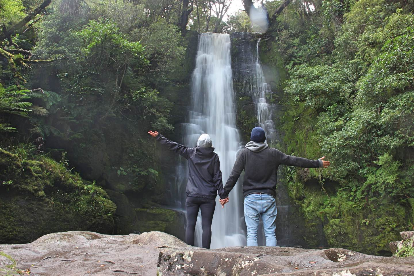 Weltreise_Backpacking_Neuseeland_McLeanfalls