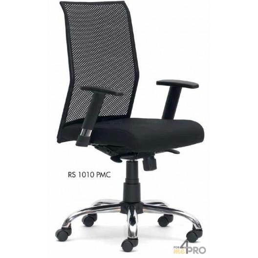 fauteuil de bureau synchrone a dossier resille ring