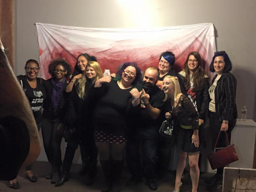 with Kristina Leath-Malin, Ashlee Blackwell, Stacy Pippi Hammon, Izzy Lee, Hannah Forman, Jay Kay, Lynne Hansen, Rina-fay Pivin and Leticia De Bortoli Alves. Please look into all of these lovely people and their awesome work!