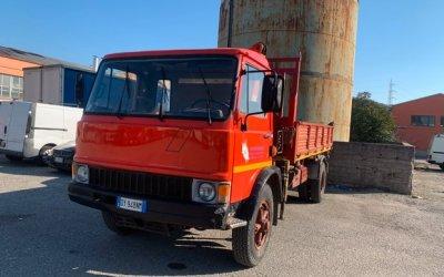 Fiat f 13 c ribaltabile con gru