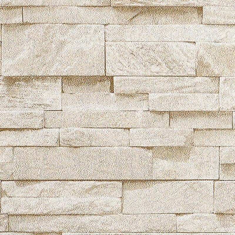 Papier Peint Intisse Parement Coloris Beige Pierre Beige Calcaire Papier Peint 4murs