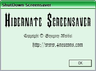 Hibernate Screensaver