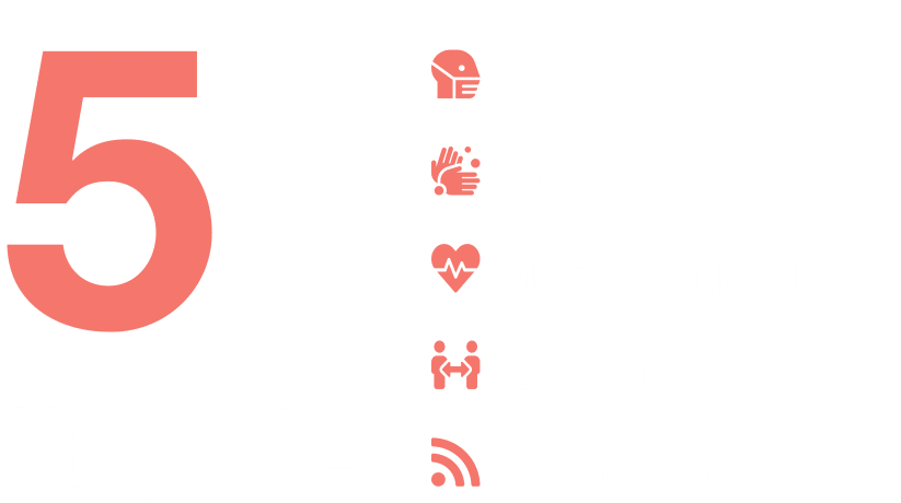 5 ways to stay safe