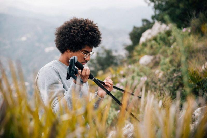 cómo elegir un bastón de trekking