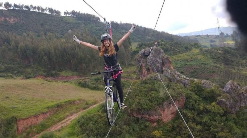 Cusco en modo aventura Skybike