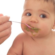 تغذية الطفل في الشهر الثامن الى العاشر