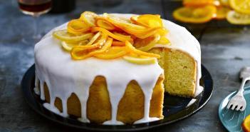 كيك البرتقال بالليمون للشيف سالي فؤاد