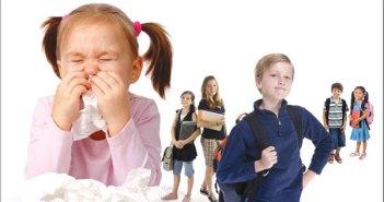 الأمراض المعدية للأطفال في المدرسة وطرق الوقاية منها