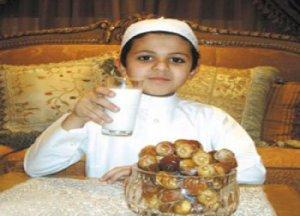 أطعمة مفيدة لصحة طفلك في رمضان