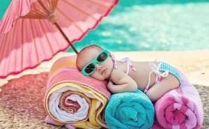 زيوت طبيعية بديلاً عن واقي الشمس لأطفالك