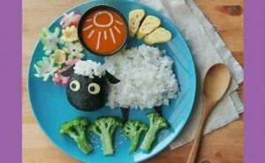 أطباق مغذية و مبتكرة لأطفالك