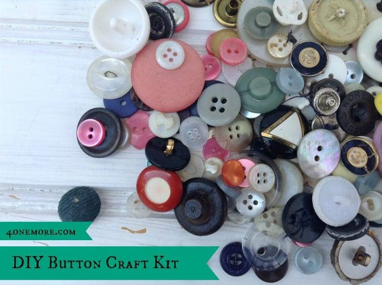 button craft kit